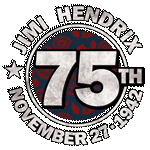 Happy 75th Birthday Jimi Hendrix